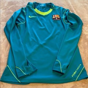 FCBarcelona fit dry soccer shirt